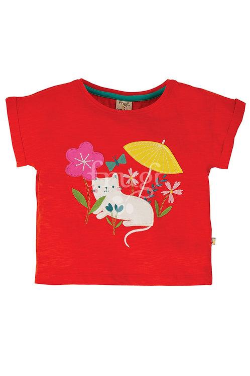 T-Shirt SOPHIA CAT aus reiner Bio-Baumwolle