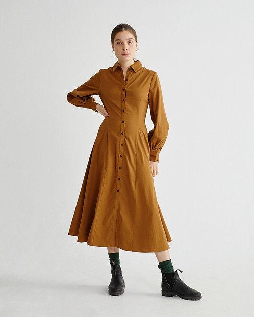 Kleid CARAMEL FREYA DRESS aus reiner Bio-Baumwolle
