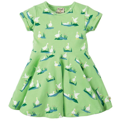 Kleid SPRING SKATER DRESS DUCK aus Bio-Baumwollmix
