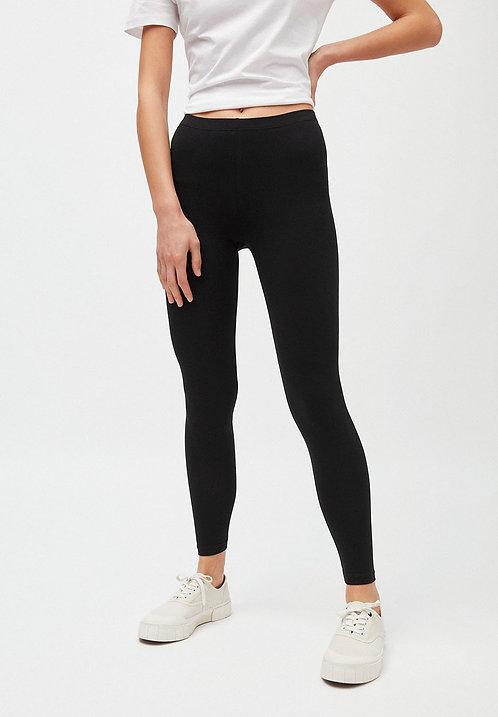 Leggings SHIVAA BLACK aus Bio-Baumwollmix