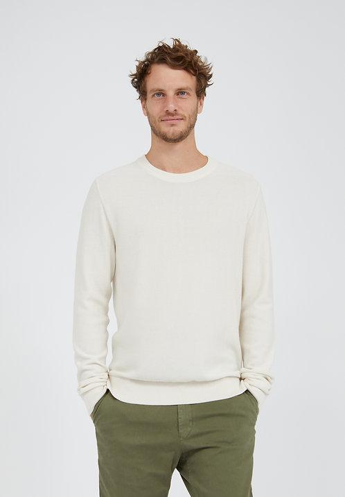 Pullover GRAANO LIGHT LINEN aus reiner Bio-Baumwolle