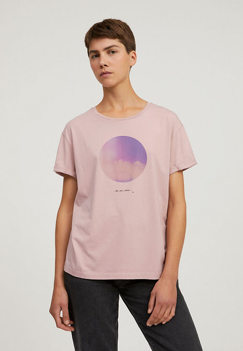 T-Shirt NAALIN LIGHT AND CLOUDS aus reiner Bio-Baumwolle