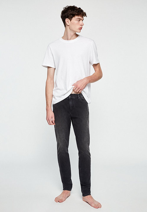 Jeans IAAN used black - Slim Fit aus Bio-Denim