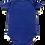 Thumbnail: Body BIG CAT COBALT BLUE aus reiner Bio-Baumwolle