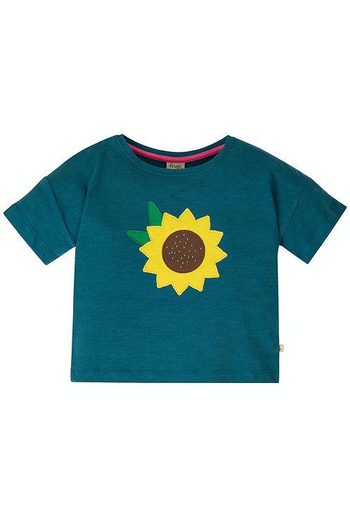 T-Shirt MYLA FLOWER aus reiner Bio-Baumwolle