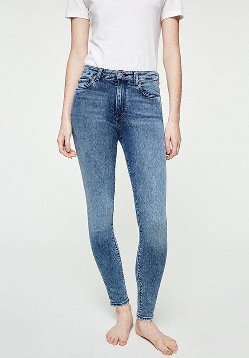 Jeans TILLAA stone wash - Skinny Fit aus Bio-Denim