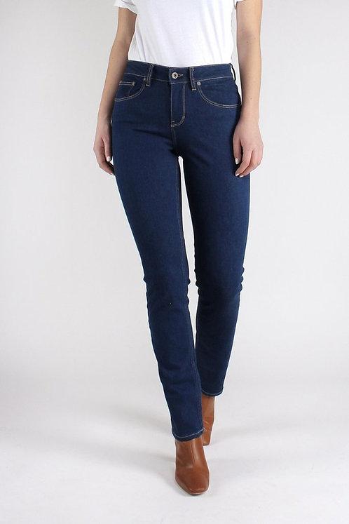 Jeans SARA STRAIGHT RINSE aus Bio-Denim