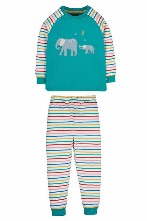 Pyjama JAMIE JIM JAMS ELEPHANT aus reiner Bio-Baumwolle
