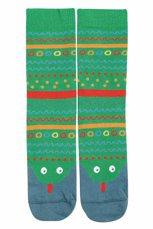 Socken PERFECT PAIR SNAKE aus Bio-Baumwollmix
