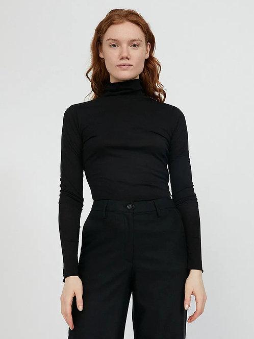 NEU: Longsleeve MALENAA BLACK aus reiner Bio-Baumwolle