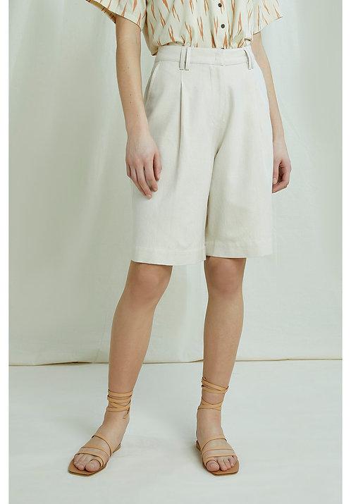 Shorts POLLY aus handgewebter Bio-Baumwolle