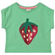 T-Shirt BELLA STRAWBERRY aus reiner Bio-Baumwolle