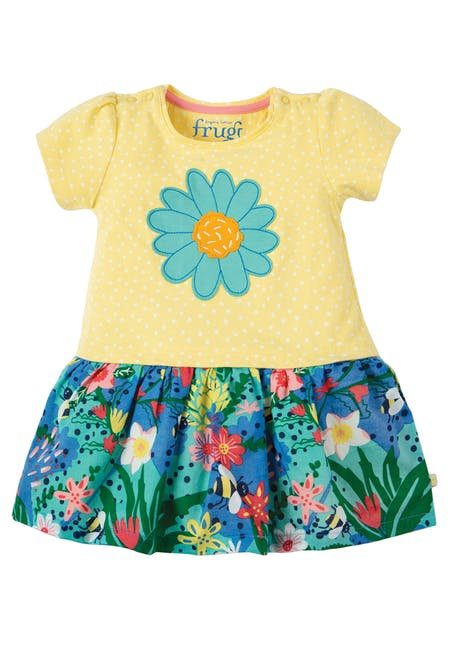 Kleid LITTLE LAURA FLOWER aus reiner Bio-Baumwolle