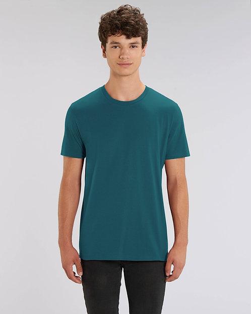 T-Shirt Herren - Petrol aus reiner Bio-Baumwolle
