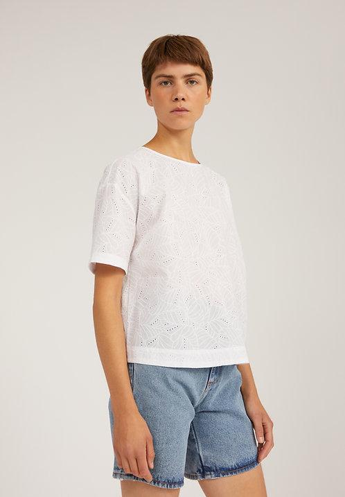 Bluse FENJAA ANGLAIS aus reiner Bio-Baumwolle