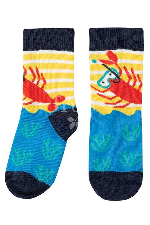 Socken PERFECT PAIR LOBSTER aus Bio-Baumwollmix
