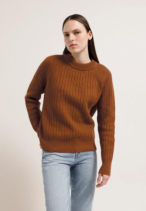 Pullover HINAA aus Bio-Baumwolle und Wolle
