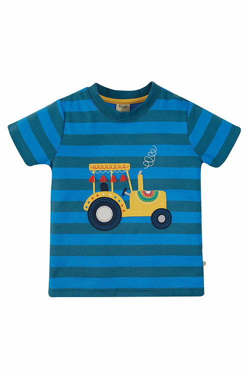 T-Shirt SID TRACTOR aus reiner Bio-Baumwolle