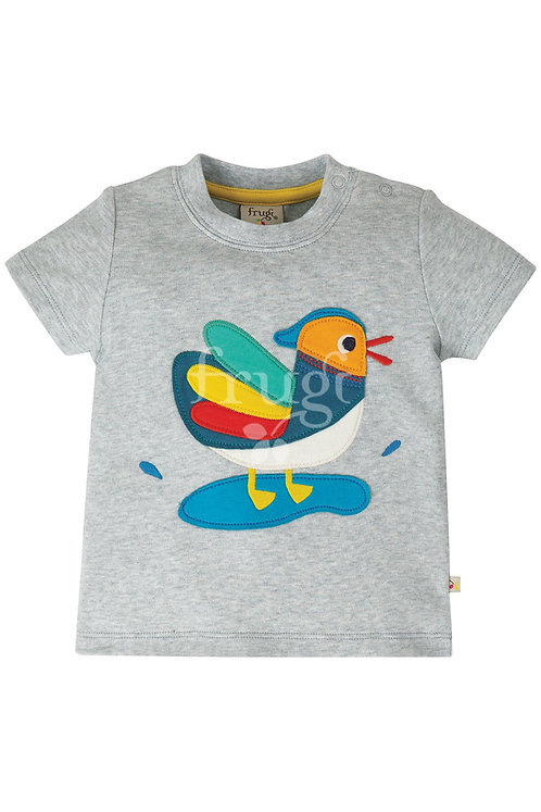 T-Shirt LITTLE CREATURE DUCK aus reiner Bio-Baumwolle