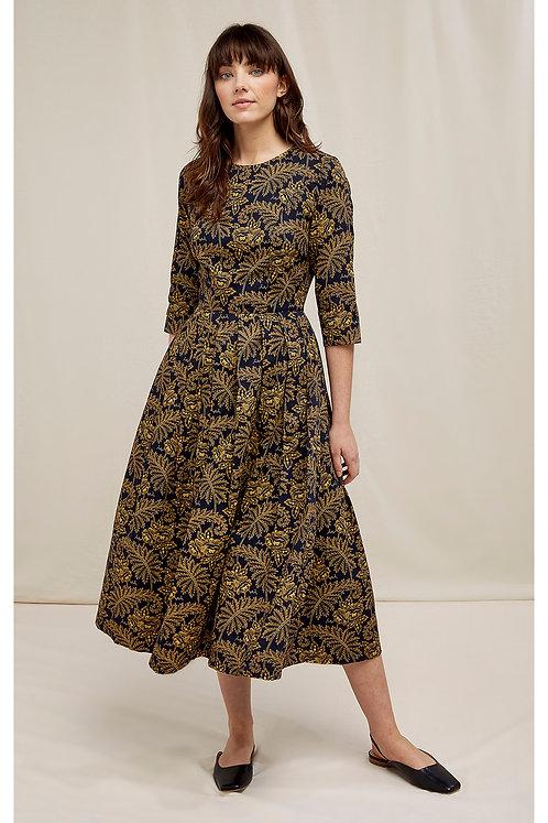 Kleid V&A ROSA PRINT DRESS aus reiner Bio-Baumwolle