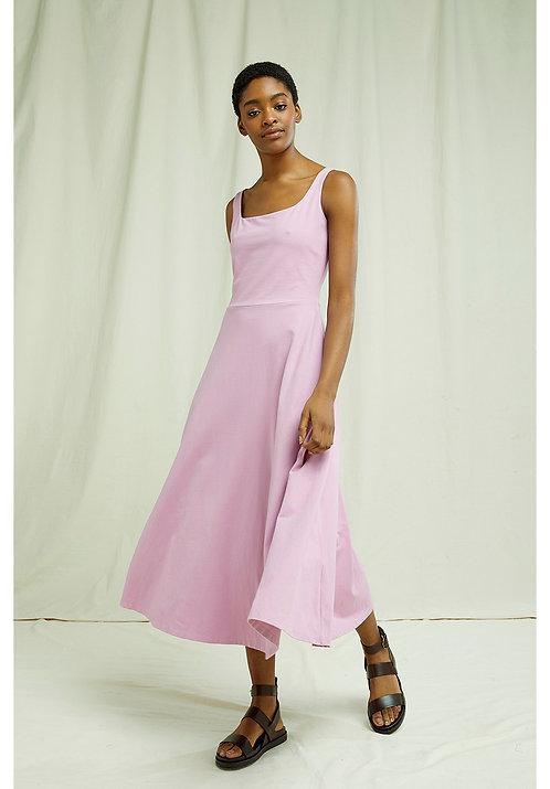 Kleid TYRA PINK aus Bio-Baumwollmix