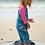 Thumbnail: Badeanzug LITTLE SUN SAFE SUIT BENGAL BAY aus recycletem Polyester