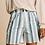 """Thumbnail: Shorts """"MAMMA BLUE STRIPES"""" aus reiner Bio-Baumwolle"""