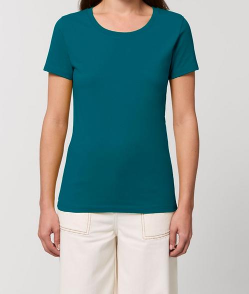 T-Shirt Damen - Ocean Depth aus reiner Bio-Baumwolle