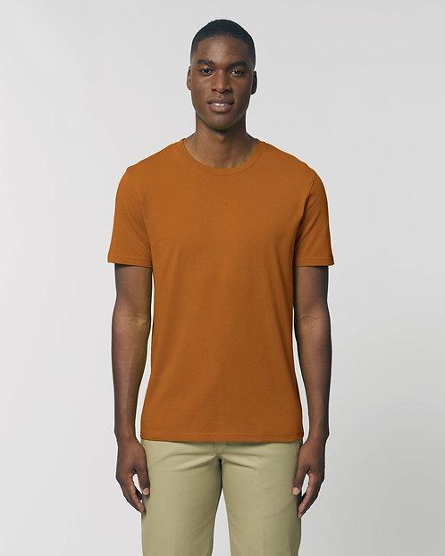 T-Shirt Herren - Roasted Orange aus reiner Bio-Baumwolle