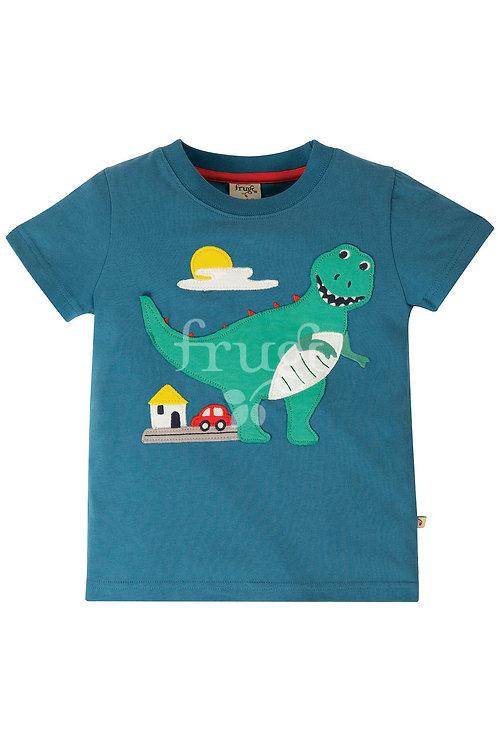 T-Shirt CARSEN DINO aus reiner Bio-Baumwolle
