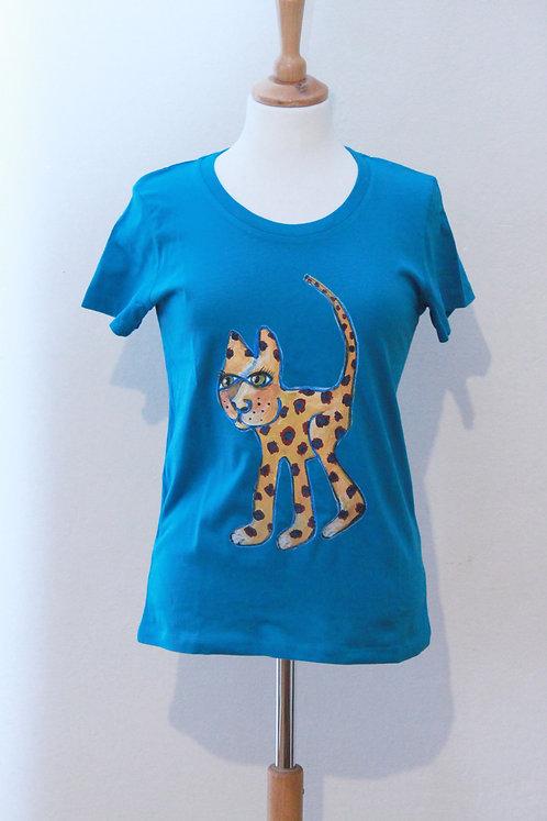 """T-Shirt Damen """"KunstStoffSammlung #2"""" aus reiner Bio-Baumwolle"""