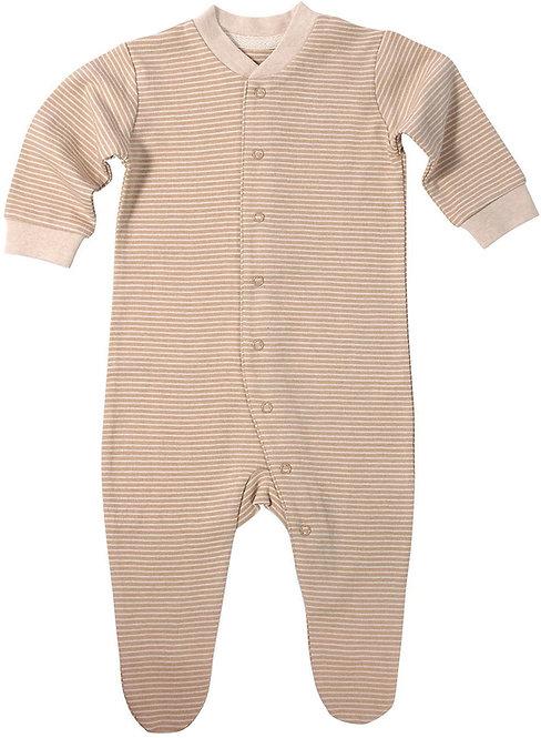 Schlafanzug HAZELNUT aus ungefärbter Bio-Baumwolle
