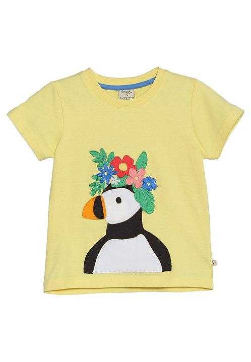 T-Shirt EVIE PUFFIN aus reiner Bio-Baumwolle