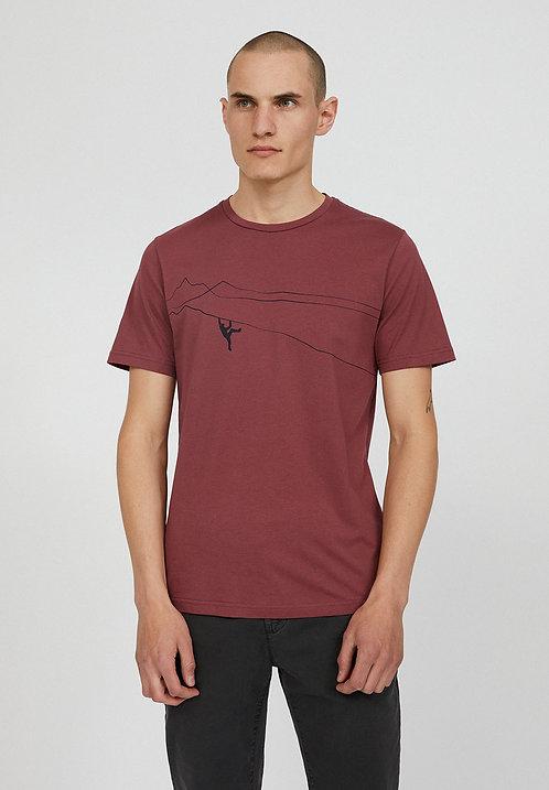 NEU: T-Shirt JAAMES MOUNTAIN CLIMBER aus reiner Bio-Baumwolle
