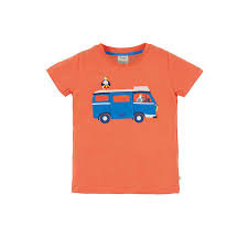 T-Shirt FINLEY CAMPERVAN aus reiner Bio-Baumwolle
