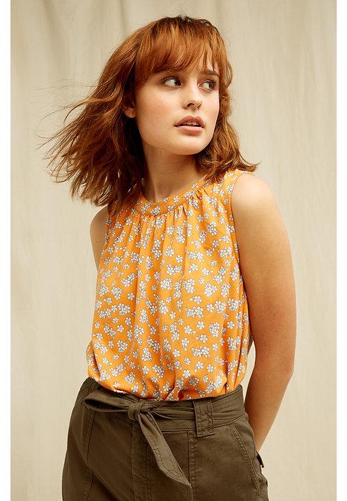 Bluse SUKEY BLOSSOM PRINT aus Bio-Baumwollmix