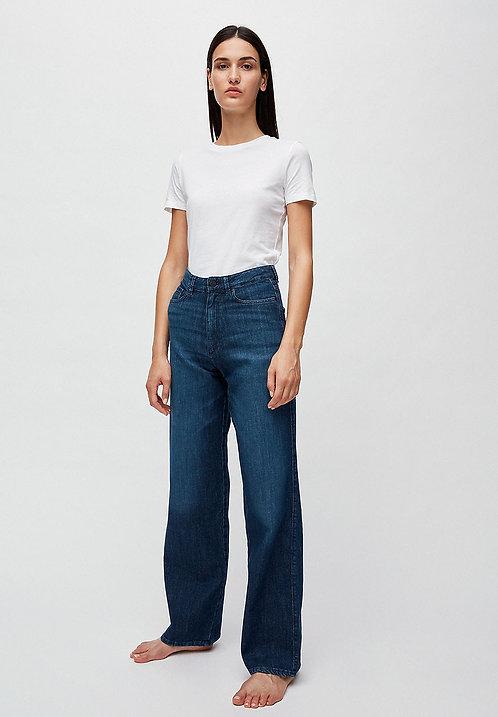 Jeans NESSAA stone wash - Wide Leg High Waist aus Bio-Denim