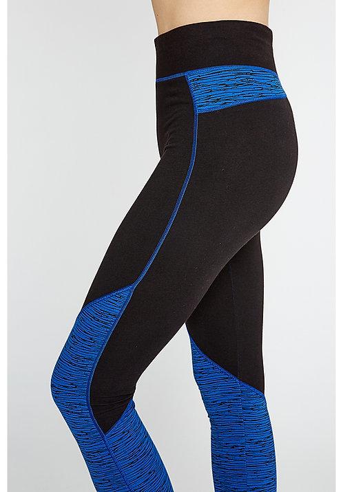 Leggings YOGA ABSTRACT aus Bio-Baumwollmix