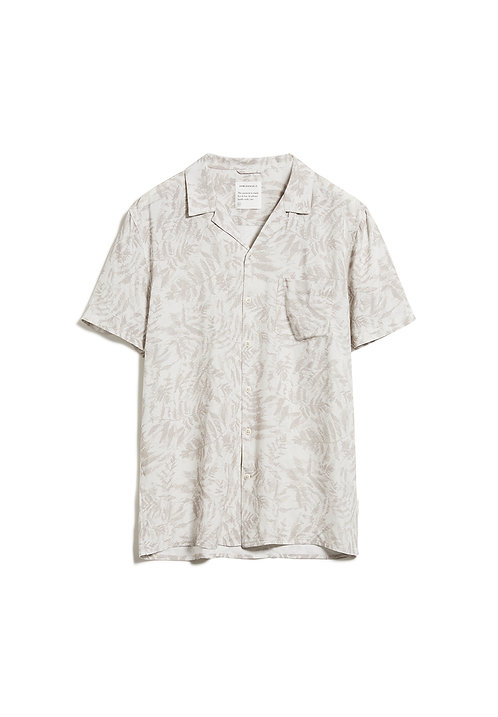 Kurzarmhemd TAAFIL PALMS aus 100 % LENZING ECOVERO