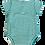 Thumbnail: Body PRETTY COLLAR JEWEL GREEN aus reiner Bio-Baumwolle