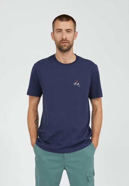 T-Shirt AADO CHECK aus reiner Bio-Baumwolle