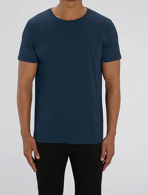 T-Shirt Herren - Navy aus reiner Bio-Baumwolle
