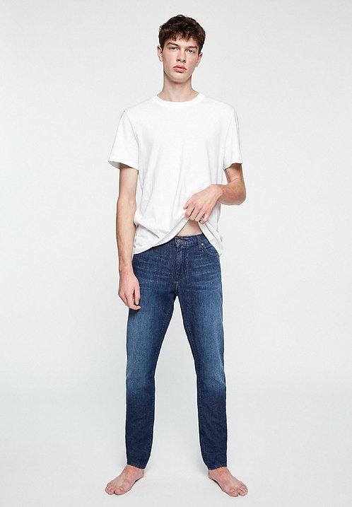 Jeans IAAN stone wash - Slim Fit aus Bio-Denim