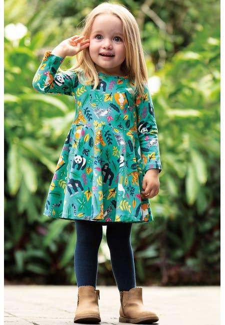 Kleid SOFIA SKATER DRESS  aus Bio-Baumwollmix