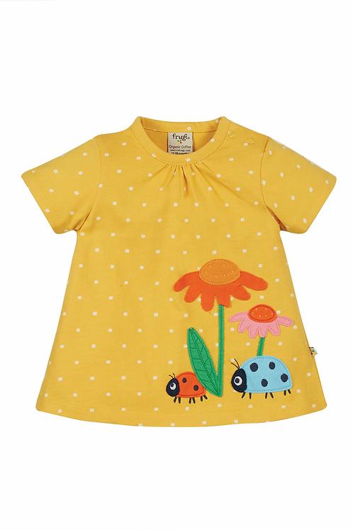 T-Shirt EVA FLOWERS aus reiner Bio-Baumwolle