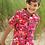 Thumbnail: Hemd HARVEY RED INDIA aus reiner Bio-Baumwolle