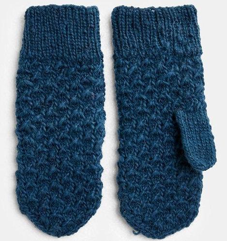 Handgestrickte Handschuhe TEXTURED MITTENS aus 100%Wolle