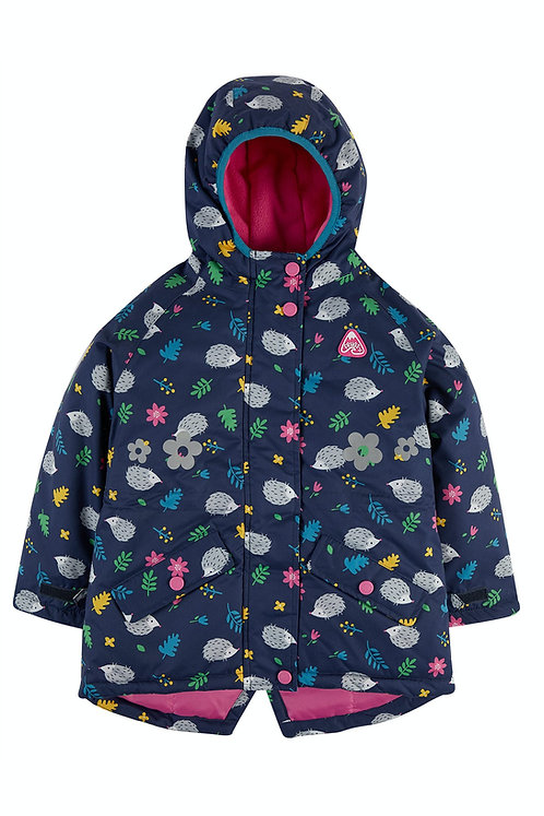 Jacke EXPLORER WATERPROOF COAT HEDGEHOGS aus 100 % recycletem Polyester