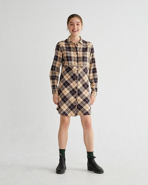 NEU: Kleid BIG CHECKS FRIGG DRESS aus reiner Bio-Baumwolle