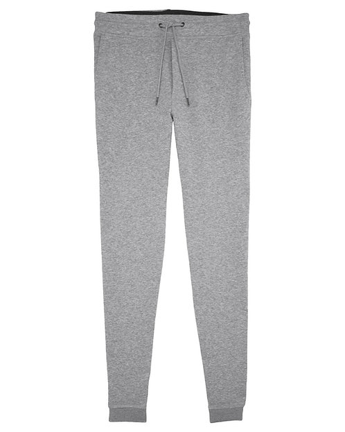 Trainingshose STANLEY STEPS HEATHER GREY aus Bio-Baumwollmix
